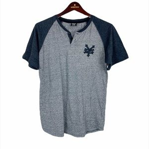 Zoo York Unbreakable Boys Raglan Henley Tee Shirt